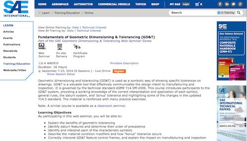 Fundamentals of Geometric Dimensioning Tolerancing GDT