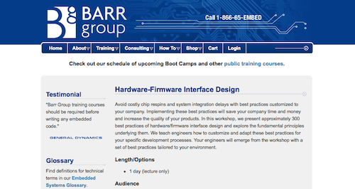 HardwareFirmware Interface Design
