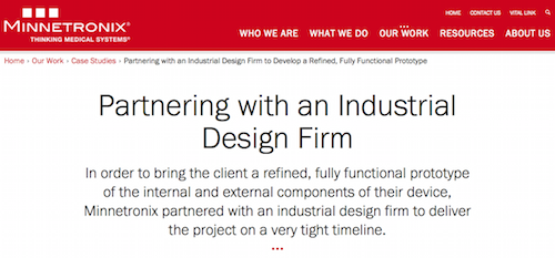 Partnering with an Industrial Design Firm
