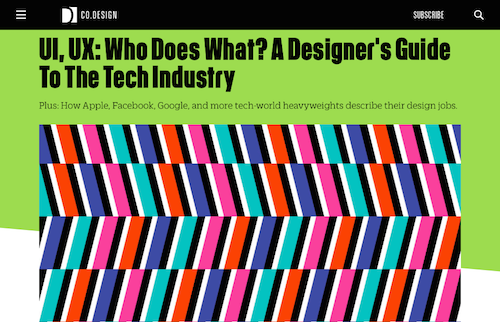 UI UX Who Does What A Designers Guide to the Tech Industry