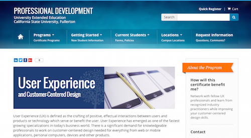 User Experience and CustomerCentered Design