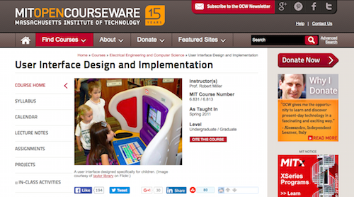User Interface Design and Implementation