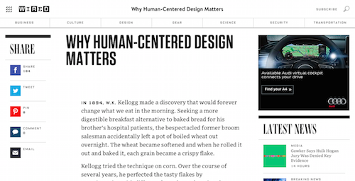 Why HumanCentered Design Matters