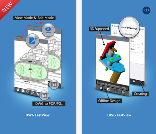 DWG FastView CAD Plan Viewer