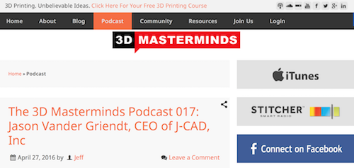 3D Masterminds Podcast