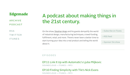 The 50 Best Podcasts on Product Design and Development