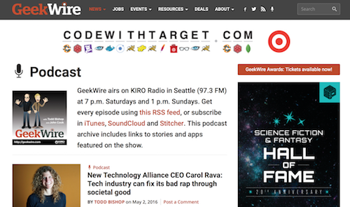 GeekWire Podcast