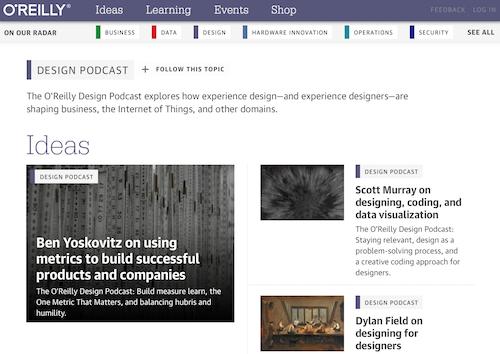 OReilly Design Podcast