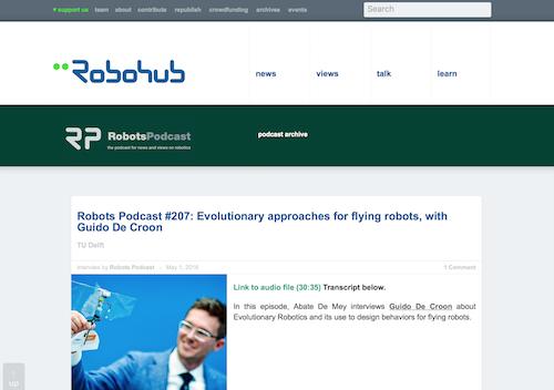 Robohubs Robots Podcast