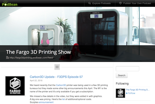 The Fargo 3D Printing Show