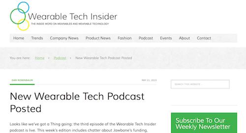 Wearable Tech Insider