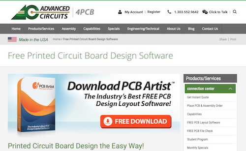 designspark pcb design software free download