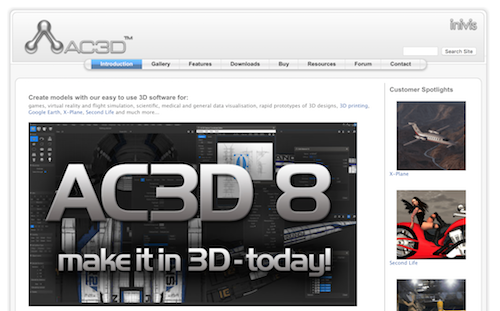AC3D Is A 3D Modeling Software Tool For Rapid Prototypes Of 3D Designs, 3D  Printing, And More. Powerful And Easy To Use, AC3D Is Available For  WINDOWS, MAC, ...