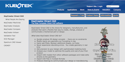 KeyCreator Direct CAD