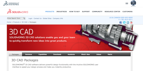 Solidworks best 3d modeling software