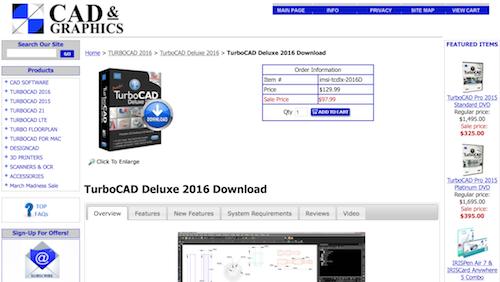 TurboCAD 2016 Deluxe