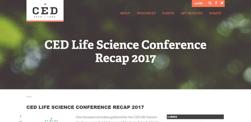 CED Life Science Conference
