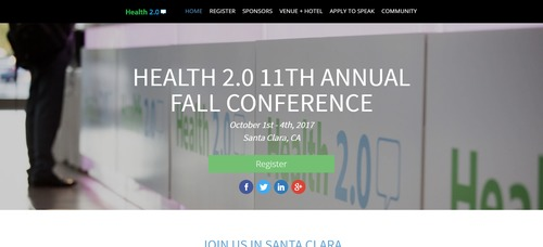 Health 2.0 11th Annual Fall Conference