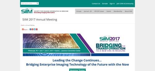SIIM 2017 Annual Meeting