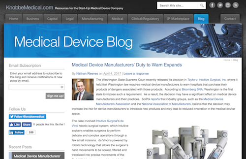 50 Best Medical Device and MedTech News Sites, Blogs – Pannam