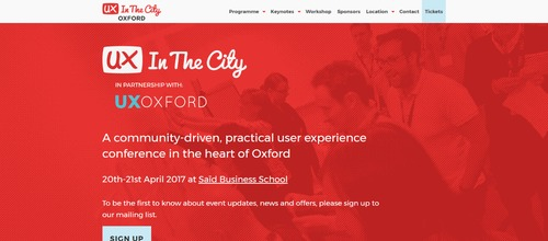 UX In The City 2017