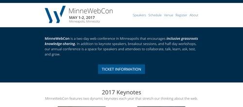 MinneWebCon 2017