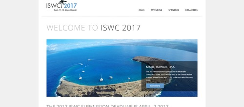 International Symposium on Wearable Computers 2017