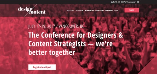 Design Content Conference 2017