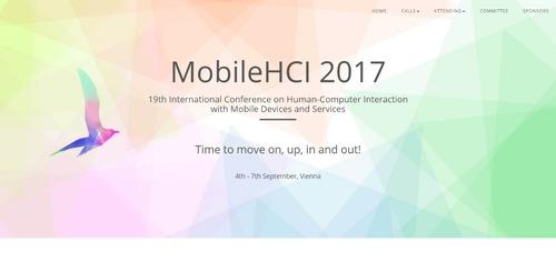 MobileHCI 2017