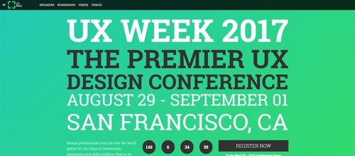 UX Week 2017